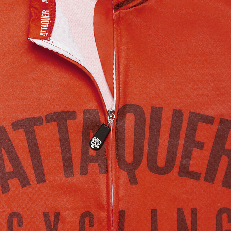 Womens All Day Club Jersey Orange detail