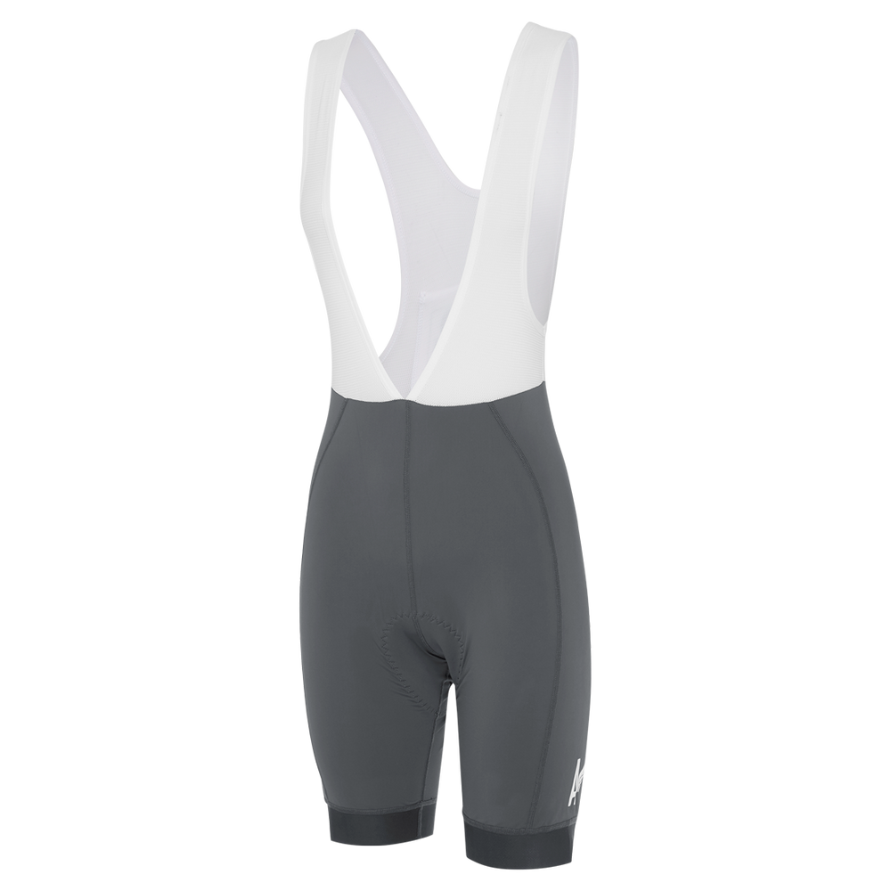 Womens A-Line Bib Shorts Titanium main