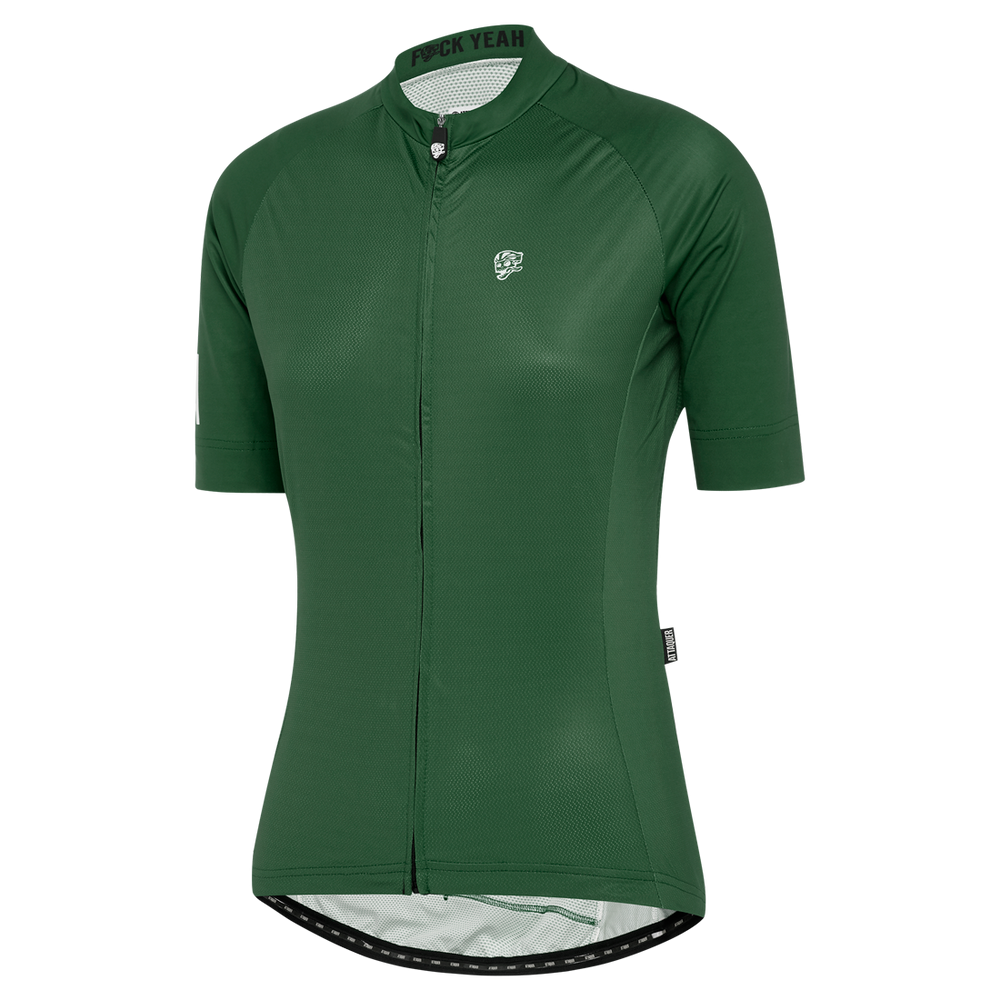 Womens A-Line Jersey Olive main