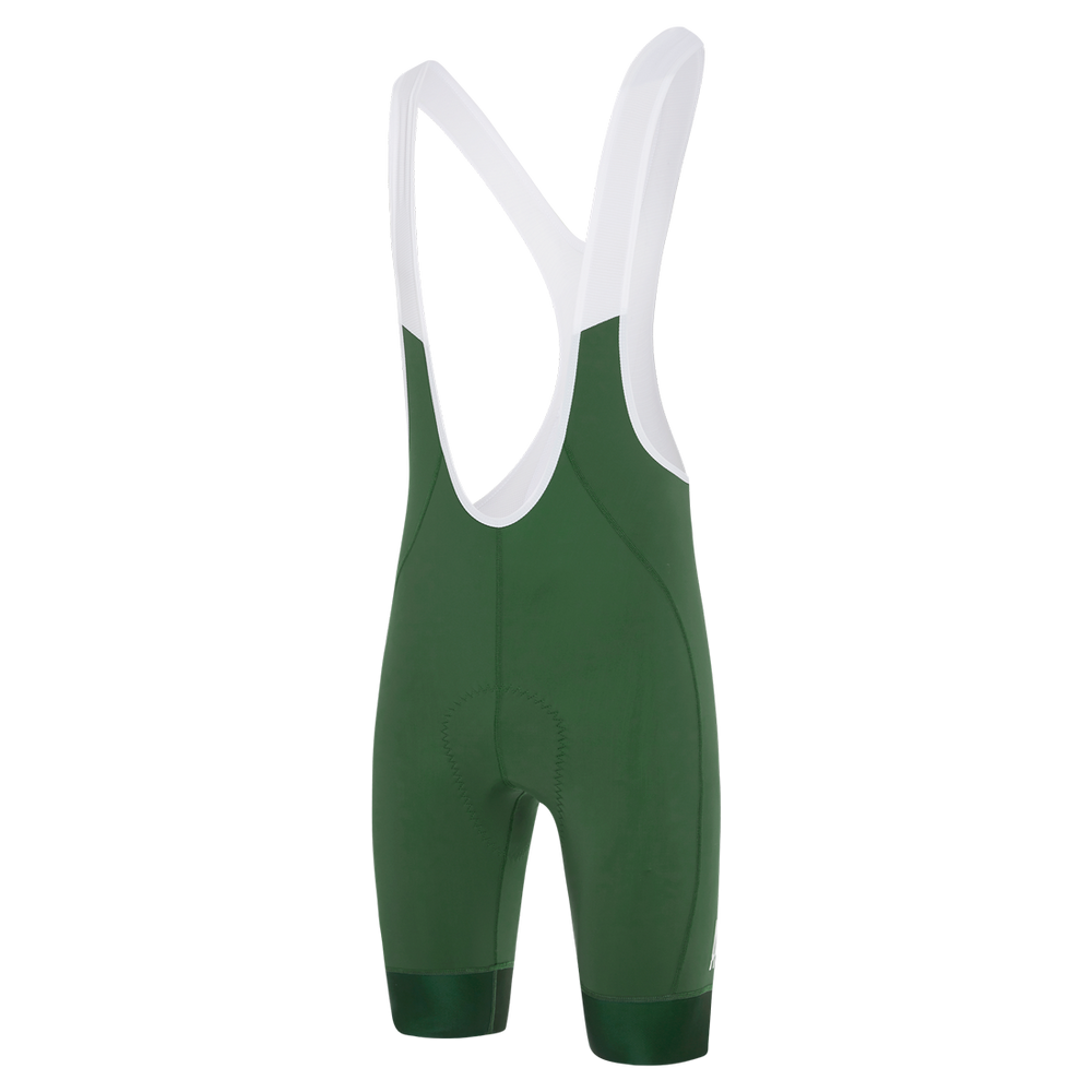 A-Line Bib Shorts Green main