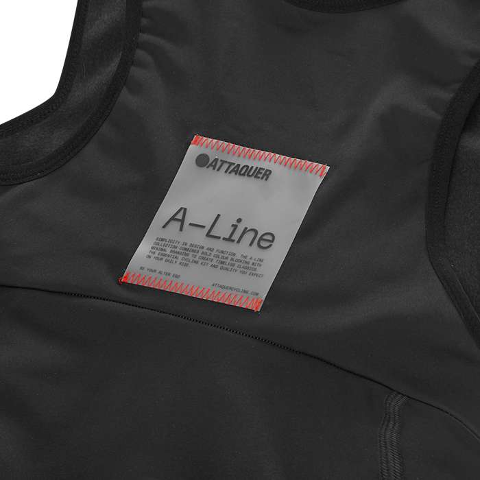 Attaquer Mens A-Line Winter Bibs detail