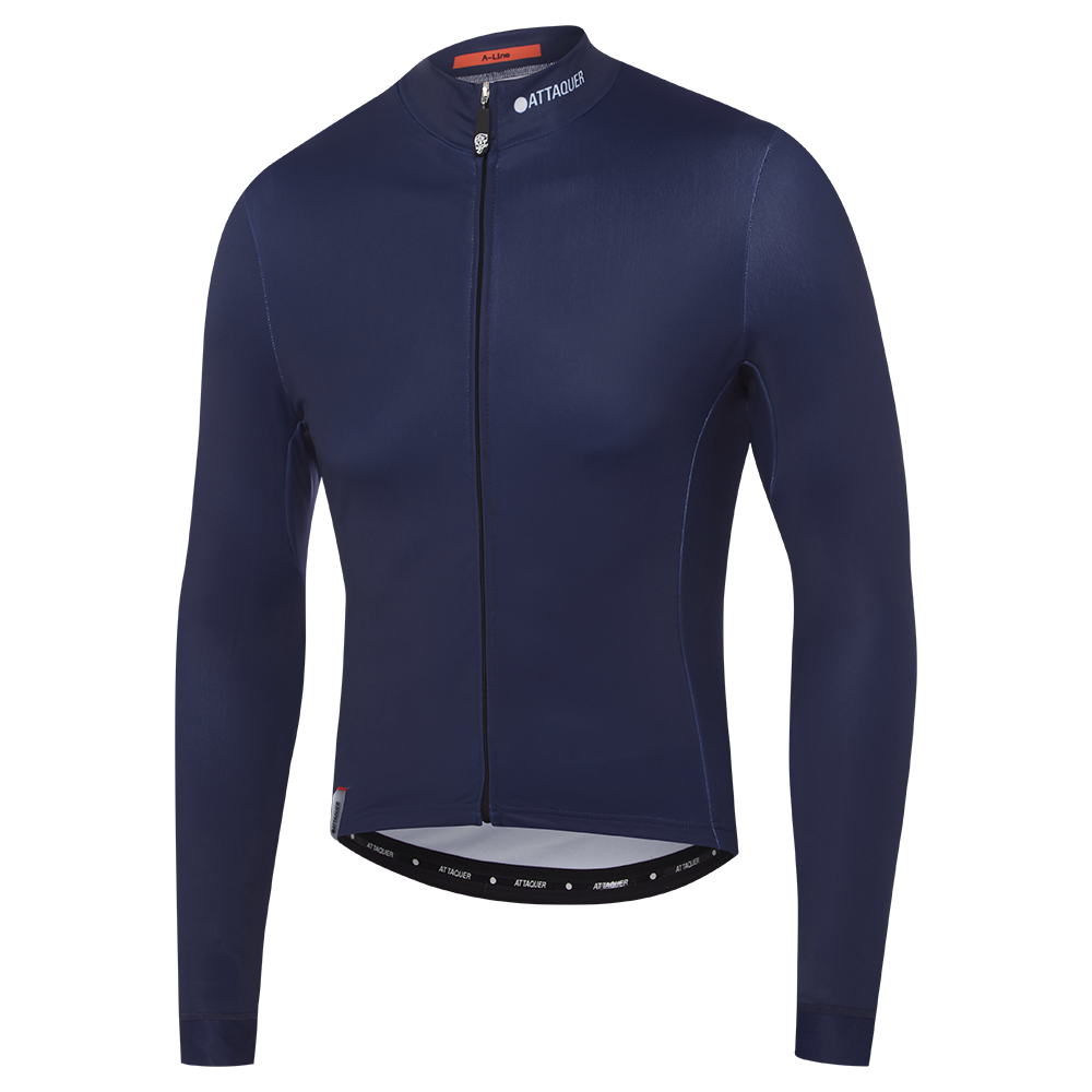 Attaquer Mens ALine Long Sleeve Jersey navy main