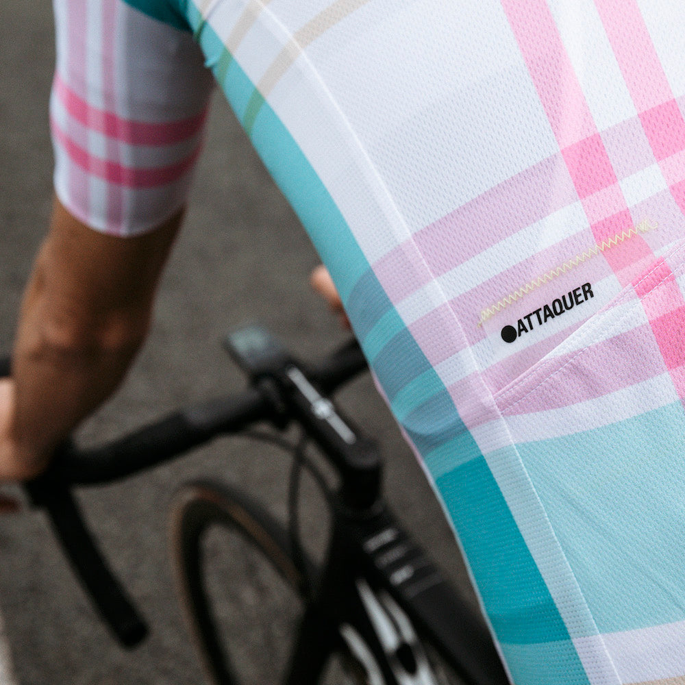 Attaquer Plaid Sunshine Mens Jersey lifestyle