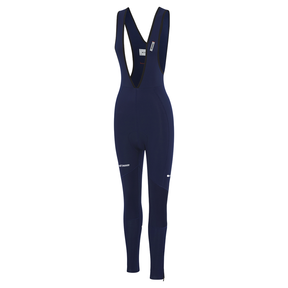 Attaquer Womens Bib Longs Navy main