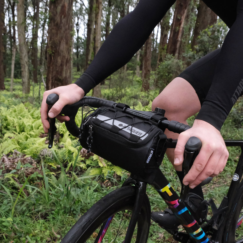 Attaquer Adventure Handlebar Bag lifestyle