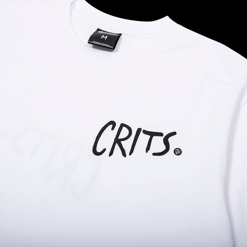Crits T-Shirt white detail