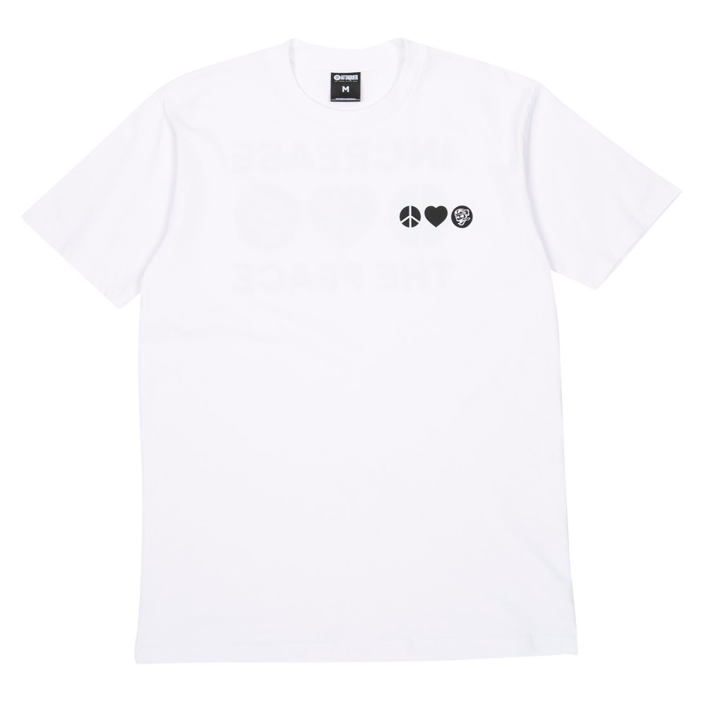 Peace T-Shirt white main