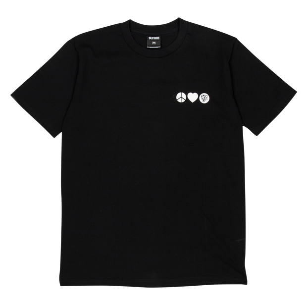 Peace T-Shirt black main