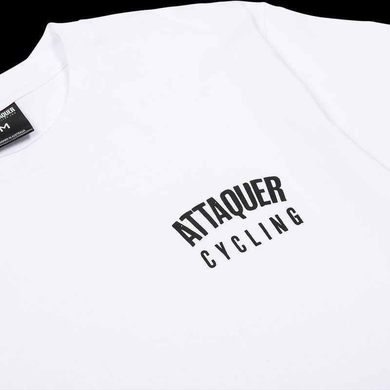 All Day Team T-Shirt white details