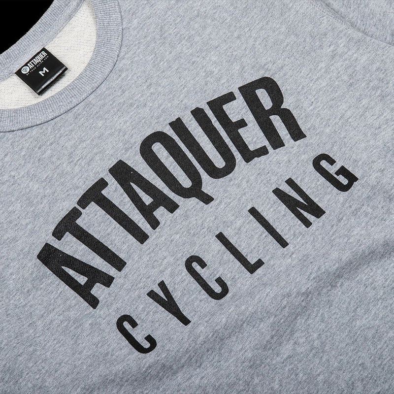 All Day Club Sweater grey detail