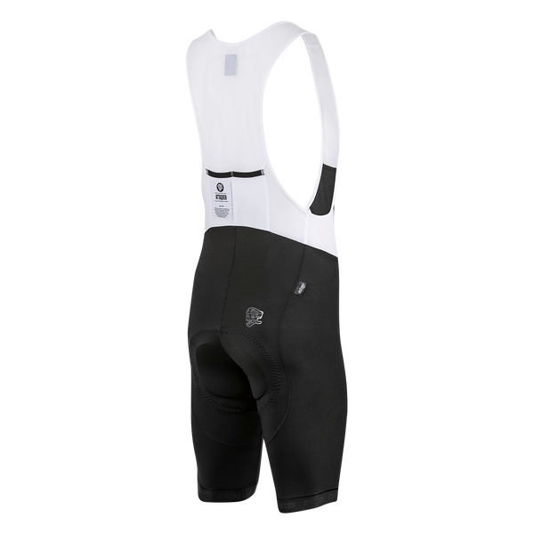 All Day Bib Short Black Reflective main