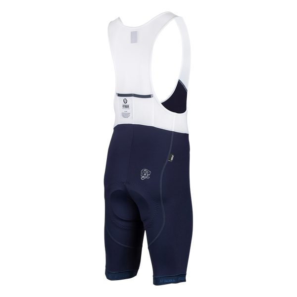 All Day Bib Short Navy Reflective main