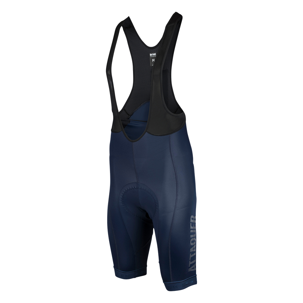 Race Bib Short Navy Reflective Tonal Logo main