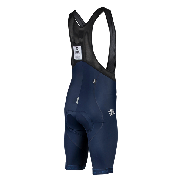 Race Bib Short Navy/Reflective Logo main