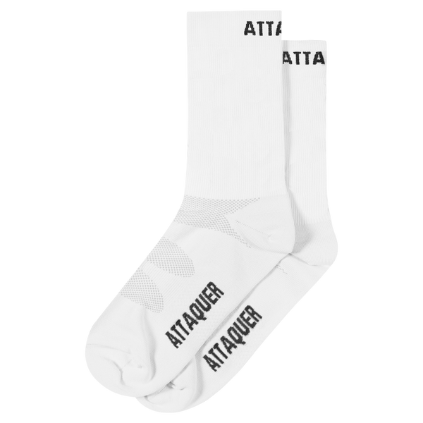 Attaquer ULTRA+ Logo Sock White main