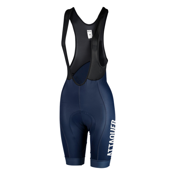Womens Race Bib Short Navy Reflective main