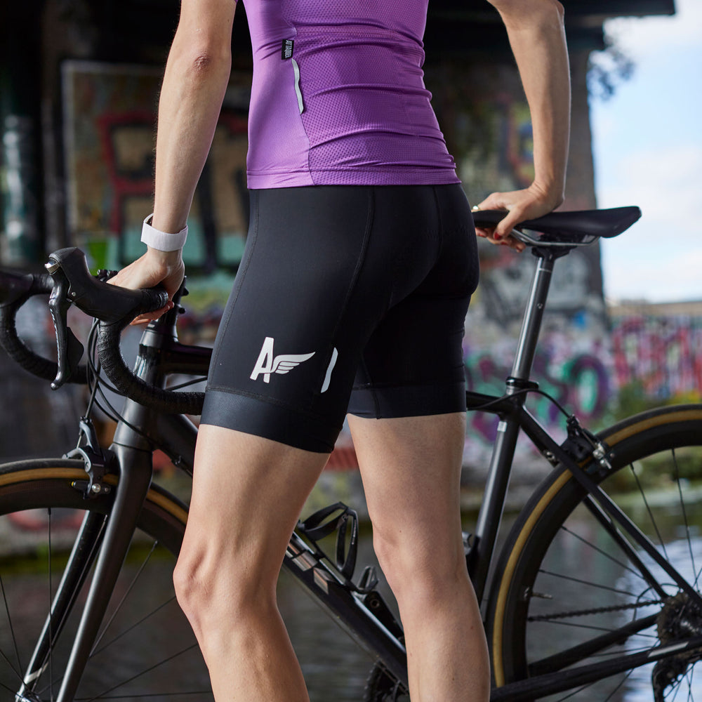 Attaquer A-Line Cycling Bib Shorts lifestyle