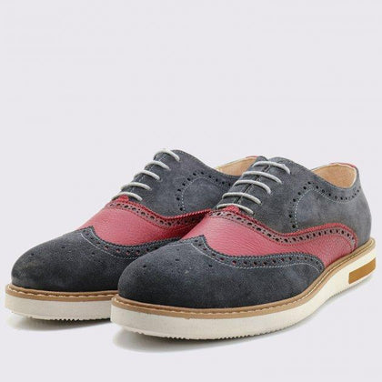 OXFORD BROGUE EN DAIM