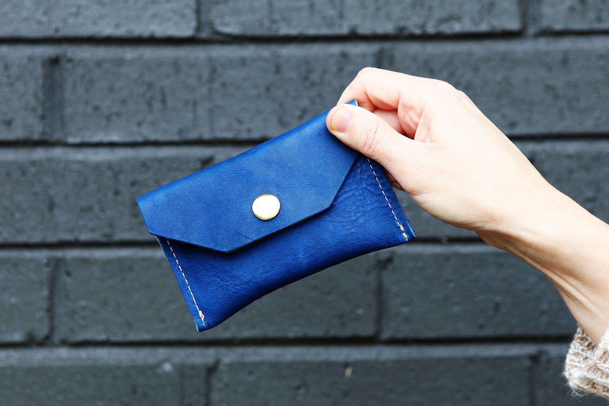the small snap pouch, leather