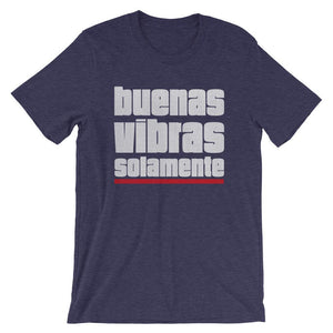 BUENAS VIBRAS SOLAMENTE | Men's Tee EAST OF ALTA Heather Midnight Navy S