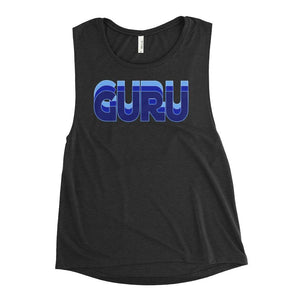 CASCADING GURU | Scoop Tank Kundalini Market Black Heather S