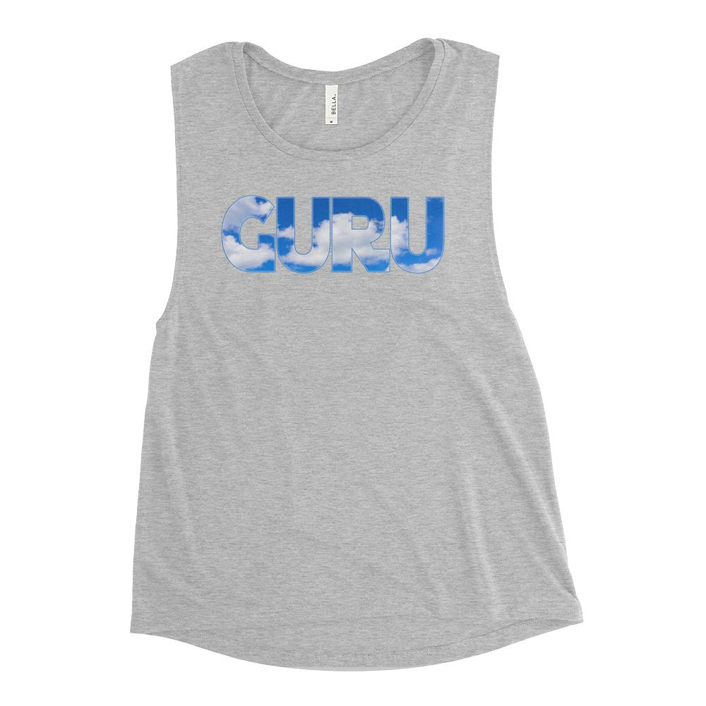 ELEVATED GURU | Scoop Tank Kundalini Market Athletic Heather S