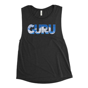 ELEVATED GURU | Scoop Tank Kundalini Market Black Heather S