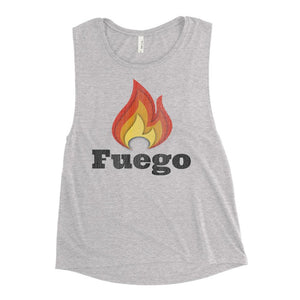 FUEGO | Women's Scoop Tank EAST OF ALTA Athletic Heather S