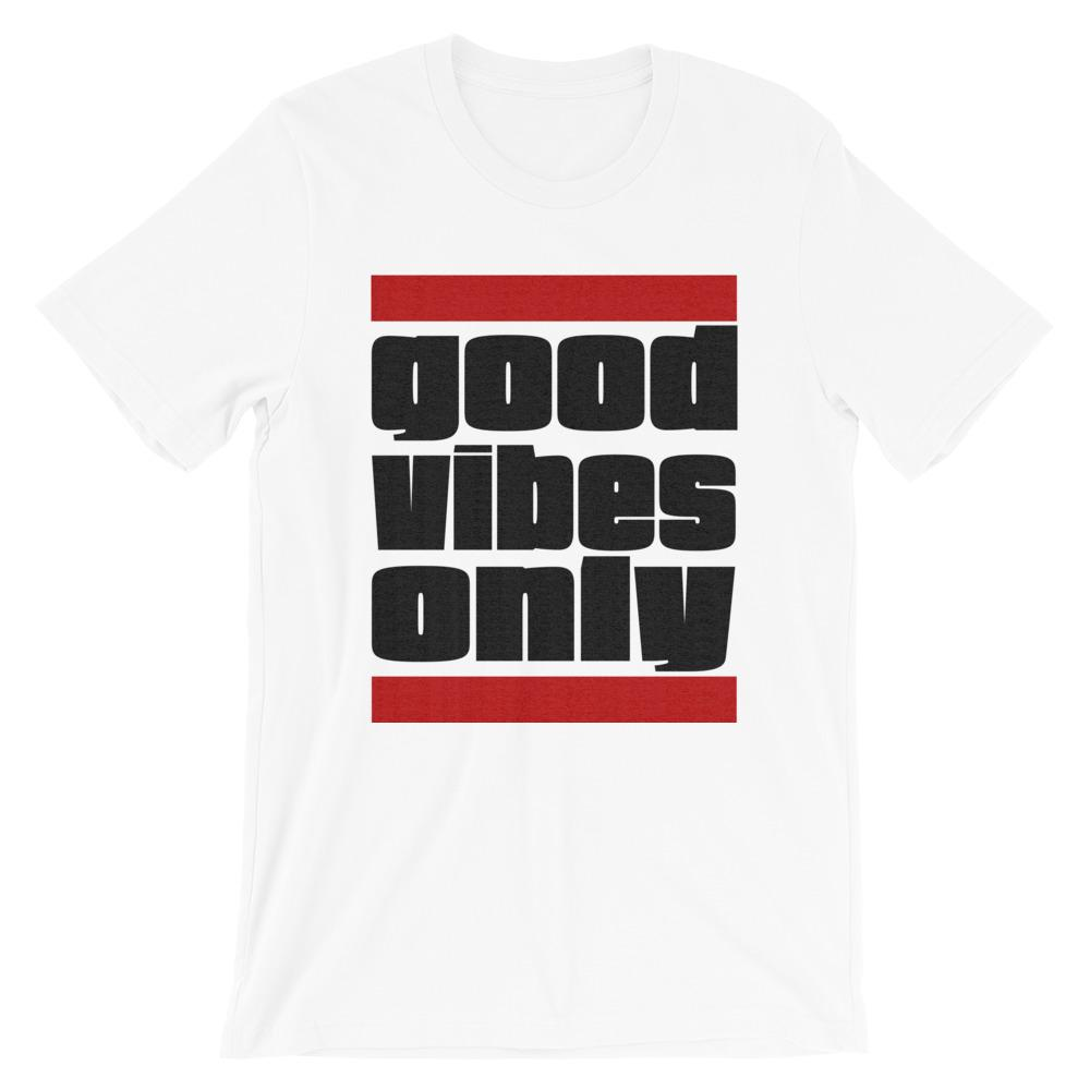 GOOD VIBES ONLY | Men's Tee EAST OF ALTA White S