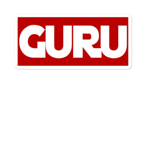 GURU | Bubble-free stickers EAST OF ALTA 5.5x5.5
