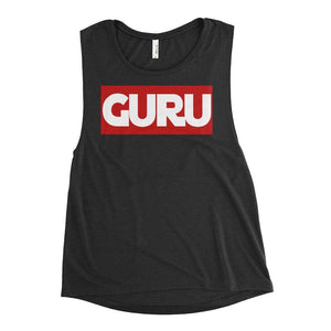 GURU | Scoop Tank Kundalini Market Black Heather S