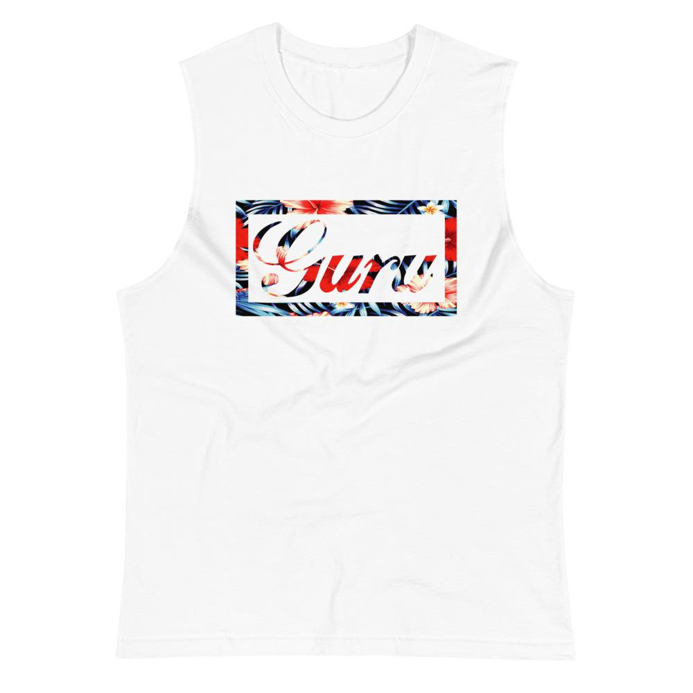 ISLAND GURU | Men's Muscle Shirt EAST OF ALTA White S