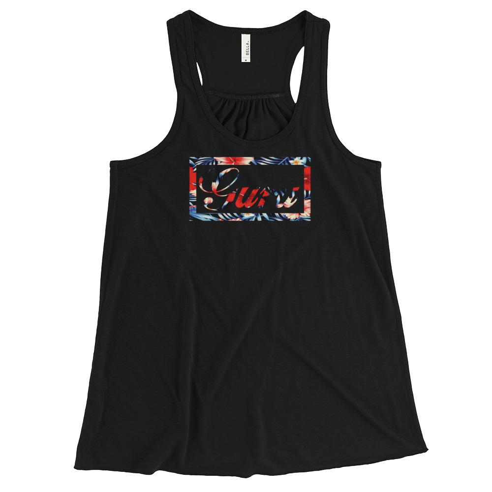 ISLAND GURU | Women's Racerback Tank EAST OF ALTA Black XS