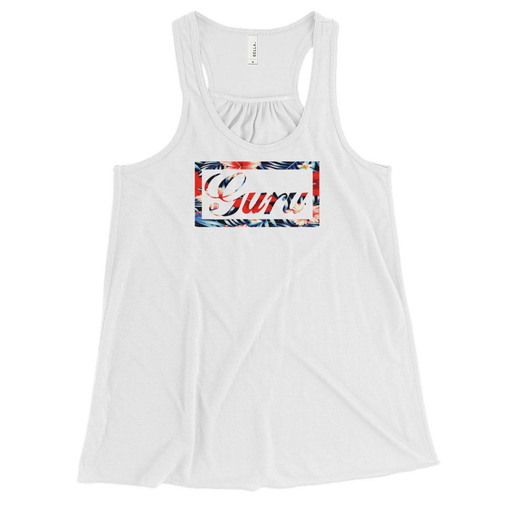 ISLAND GURU | Women's Racerback Tank EAST OF ALTA White XS