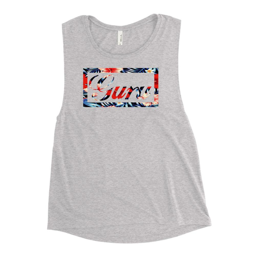 ISLAND GURU | Women's Scoop Tank EAST OF ALTA Athletic Heather S