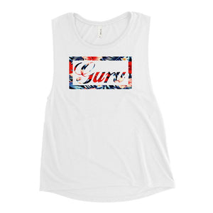 ISLAND GURU | Women's Scoop Tank EAST OF ALTA White S