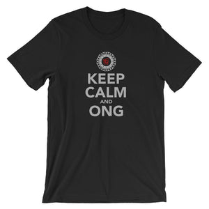 KEEP CALM AND ONG | Tee Kundalini Market Black XS