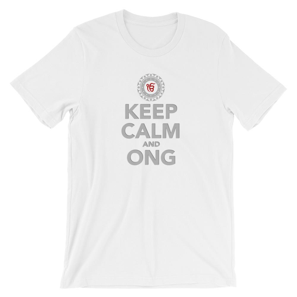 KEEP CALM AND ONG | Tee Kundalini Market White XS
