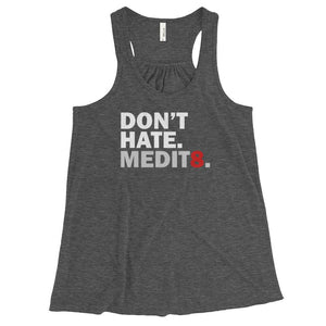 MEDIT8 | Racerback Tank Kundalini Market Dark Grey Heather XS