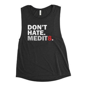 MEDIT8 | Scoop Tank Kundalini Market Black Heather S