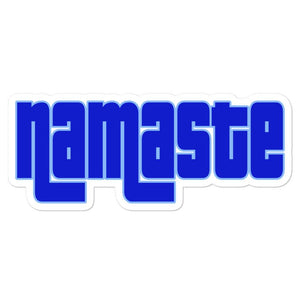 NAMASTE | Bubble-free stickers EAST OF ALTA 5.5x5.5