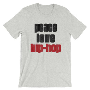 PEACE LOVE HIP-HOP | Men's Tee EAST OF ALTA Athletic Heather S