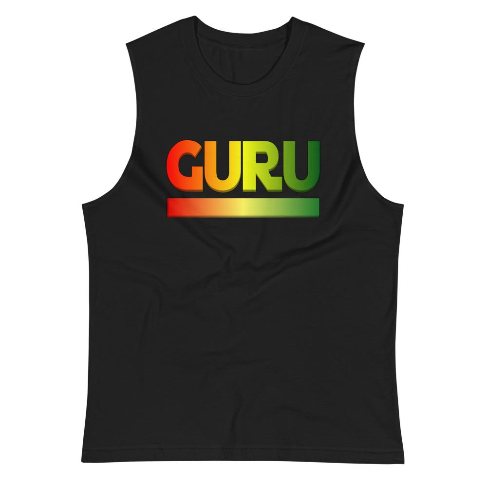 RASTA GURU | Men's Muscle Shirt EAST OF ALTA Black S