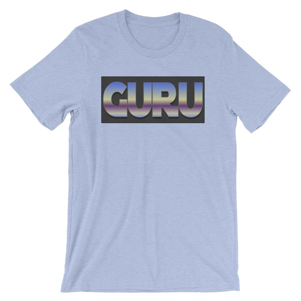 RETRO GURU | Tee Kundalini Market Heather Blue S