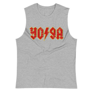 ROCK YOGA | Men's Muscle Shirt EAST OF ALTA Athletic Heather S