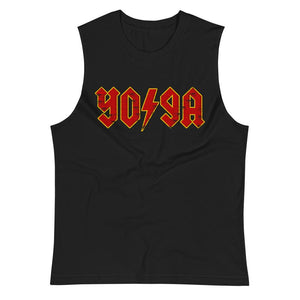 ROCK YOGA | Men's Muscle Shirt EAST OF ALTA Black S