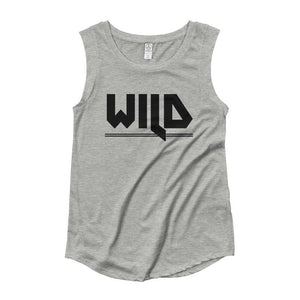 WILD | Cap Sleeve Tank Kundalini Market Heather Grey S