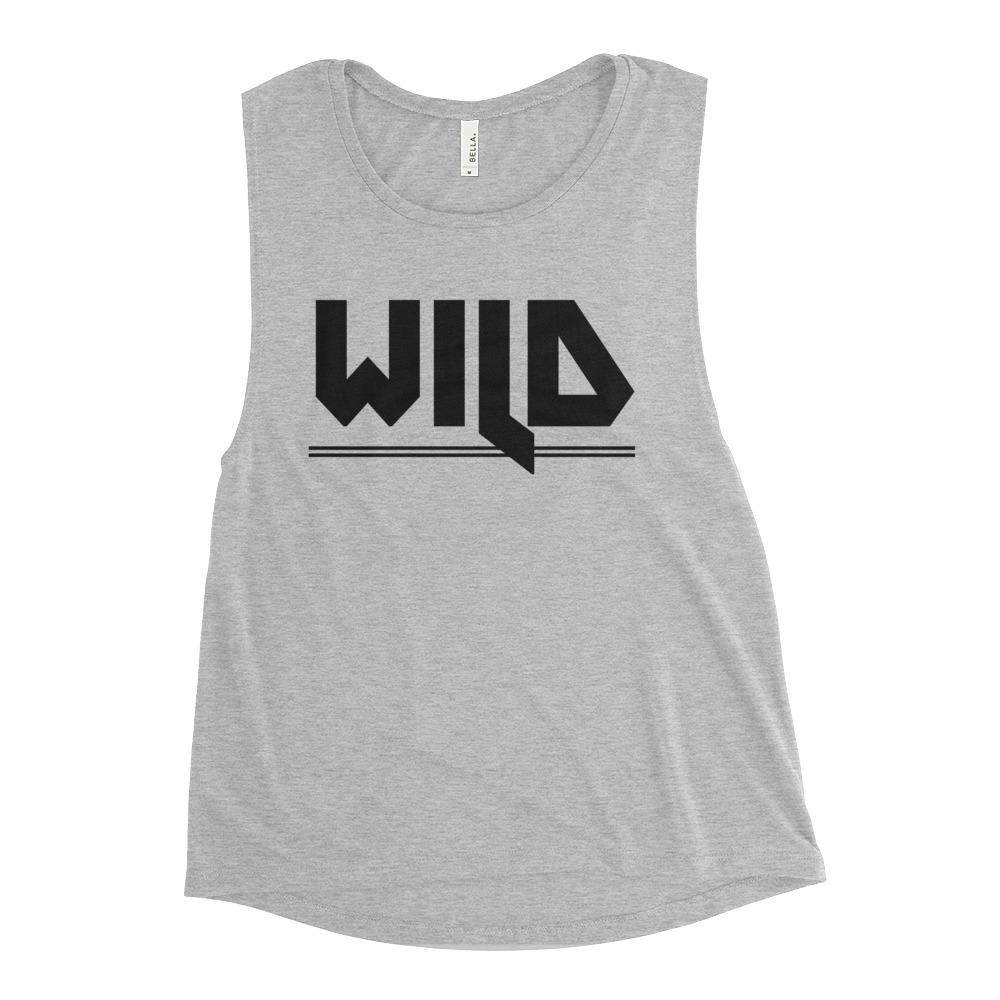 WILD | Scoop Tank Kundalini Market Athletic Heather S