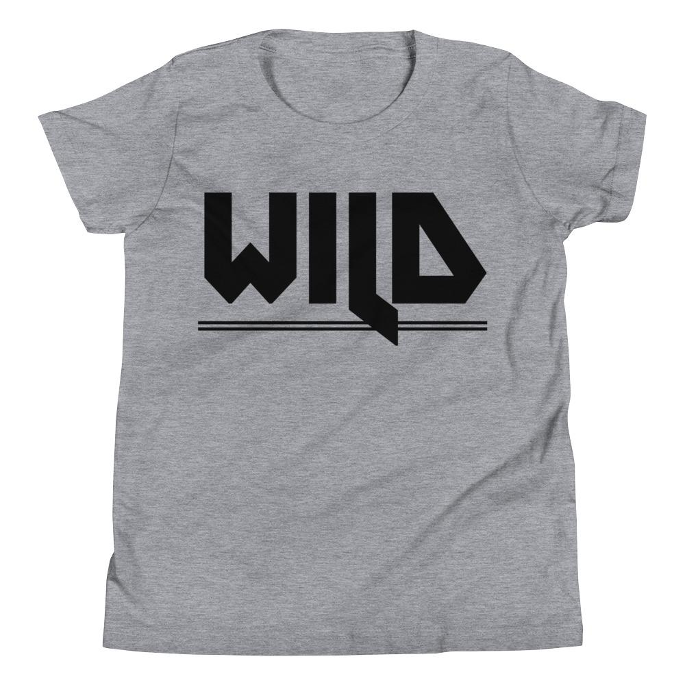 WILD | Youth Tee Kundalini Market Athletic Heather S
