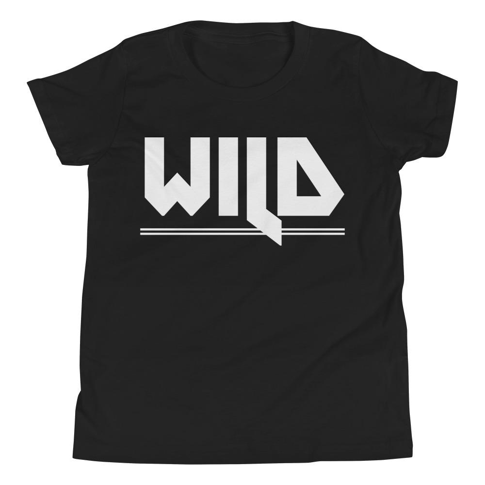 WILD | Youth Tee Kundalini Market Black S